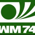 Logo Svjetskog nogometnog prvenstva održanog u Njemačkoj 1974. godine