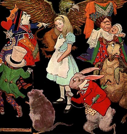 """Omiljena dječja priča - """"Alisa u Zemlji čudesa"""""""