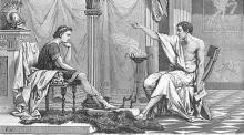 Aleksandar i Aristotel