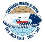 Logo Svjetskog nogometnog prvenstva održanog u Čileu 1962. godine