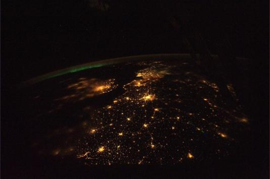 Europa noću
