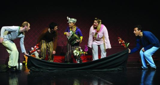 """""""Dječak Ivek i pas Cvilek"""" na pozornici HNK u Varaždinu"""