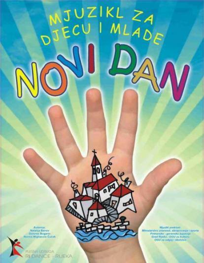 """Mjuzikl za djecu """"Novi dan"""" u Rijeci"""