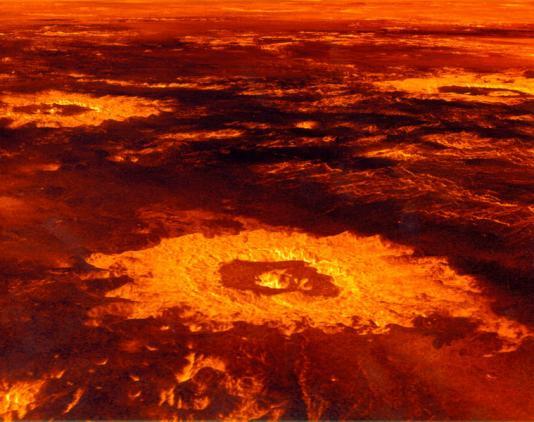 venera-krateri